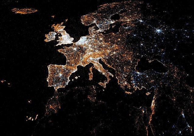 La mappa dell'Europa