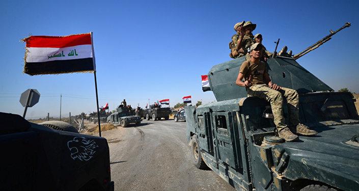 Soldati iracheni a Kirkuk