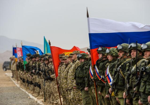 Esercitazioni congiunte dei paesi del Trattato di Sicurezza Collettiva