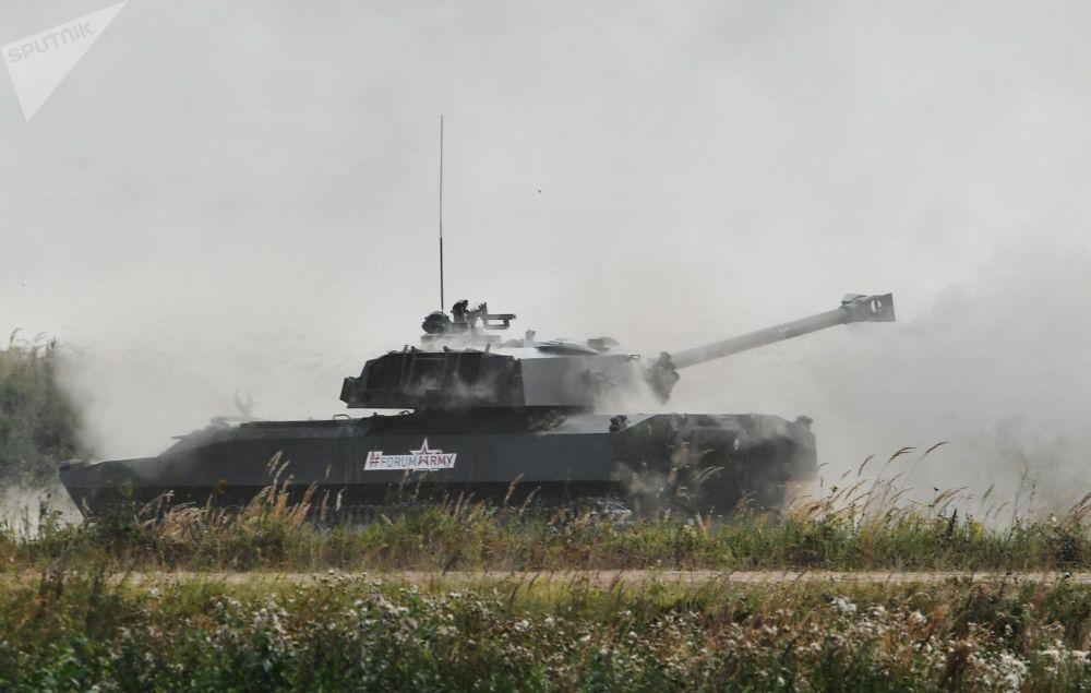 Il cannone d'assalto semovente Khosta.