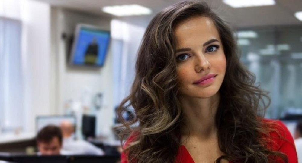 La nuova portavoce del ministro della Difesa Rossiyana Markovskaya