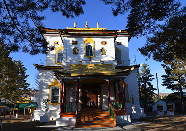 Datsan nel villaggio Aginskoye
