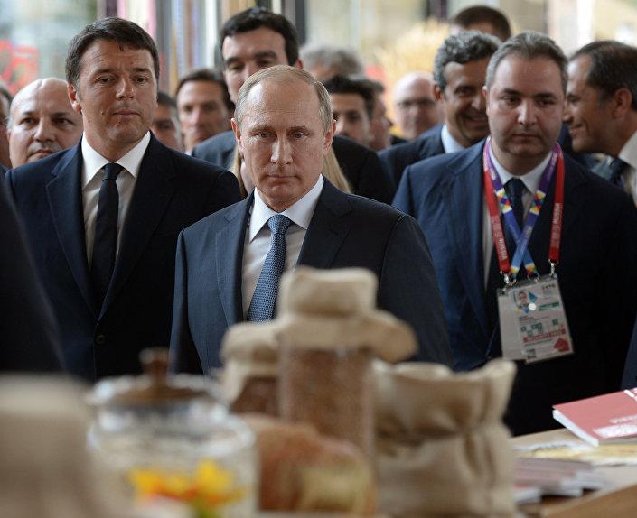 Putin all'EXPO di Milano