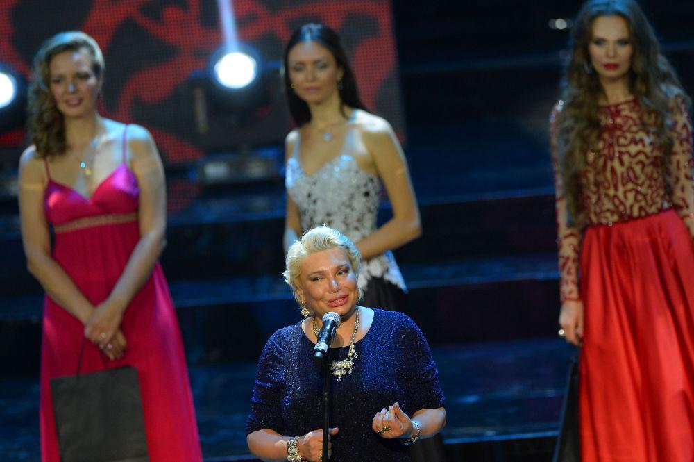 Direttore del concorso Miss Mosca 2015 Tatiana Andreeva
