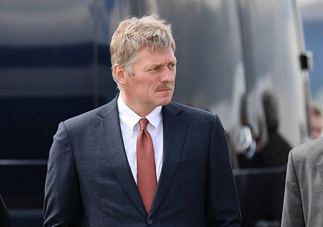 Il portavoce del Presidente russo Dmitry Peskov