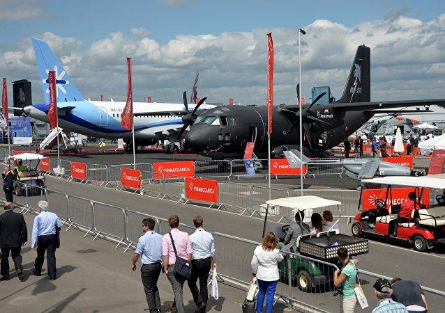 International Farnborough Airshow 2014. File photo