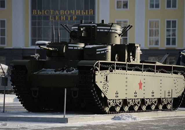 Il carro armato T-35