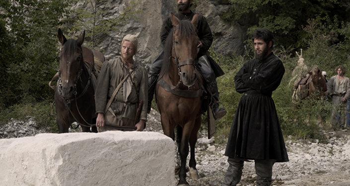 """Scena del film """"Il peccato"""" di Andrei Konchalovsky"""