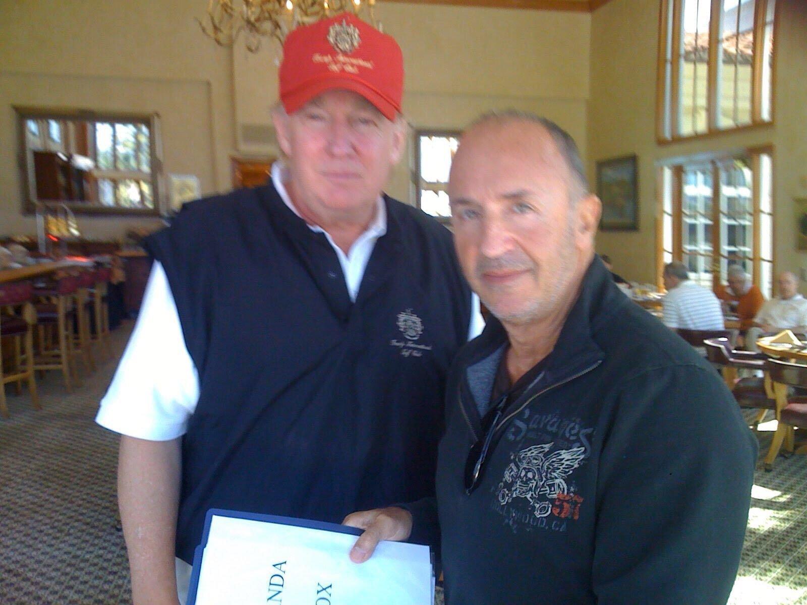 George Lombardi e Donald Trump