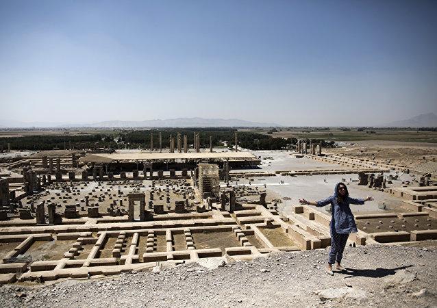 Il sito della città antica persiana di Persepolis nei pressi di Shiraz nel sud dell'Iran (foto d'archivio)