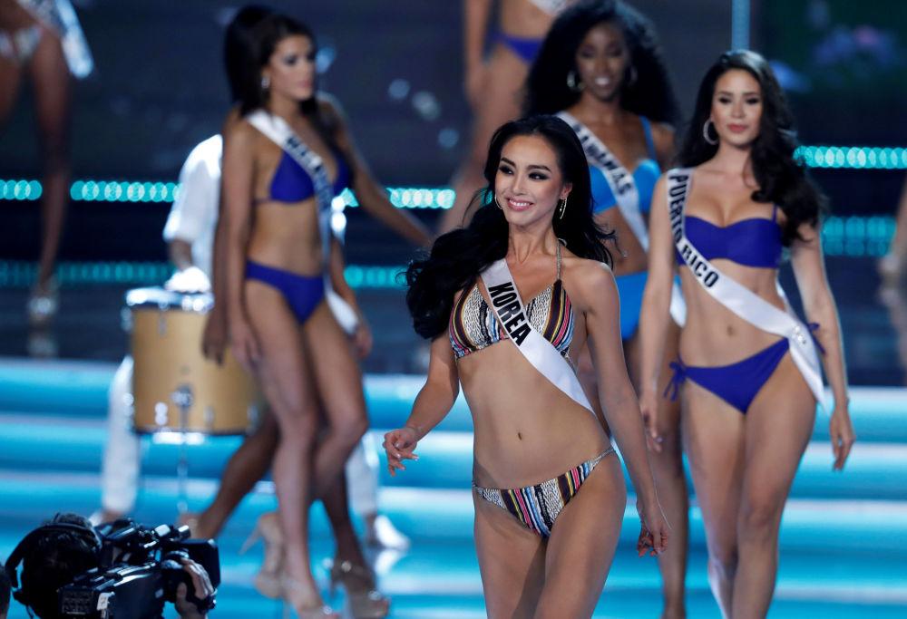 Le partecipanti al concorso Miss Universo 2017 a Las Vegas.