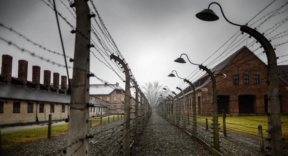 Campo di concentramento Auschwitz (foto d'archivio)