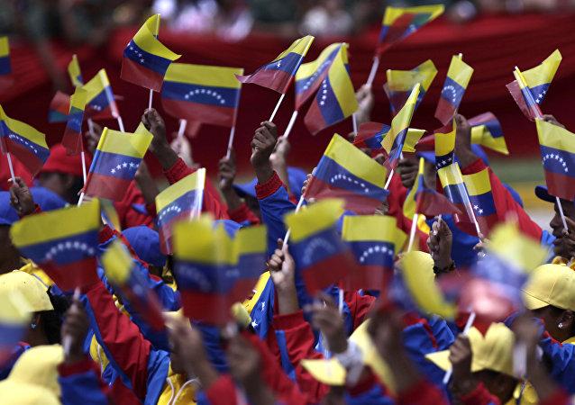 Le bandiere di Venezuela.