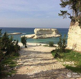 Costa mediterranea di Latakia