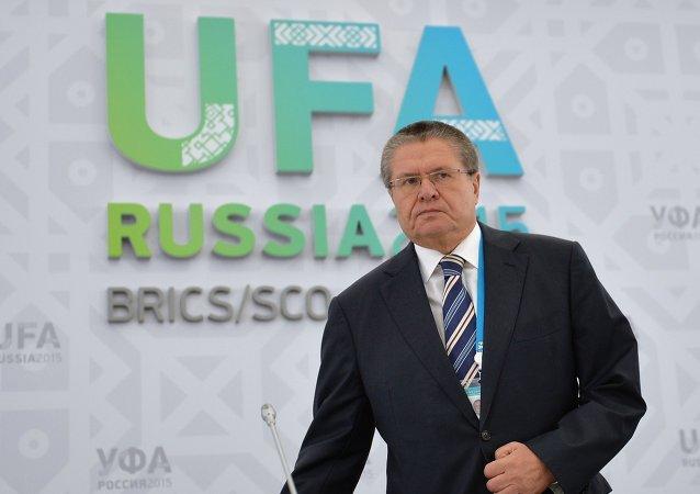 L'ex ministro dello Sviluppo economico russo Alexei Ulyukaev