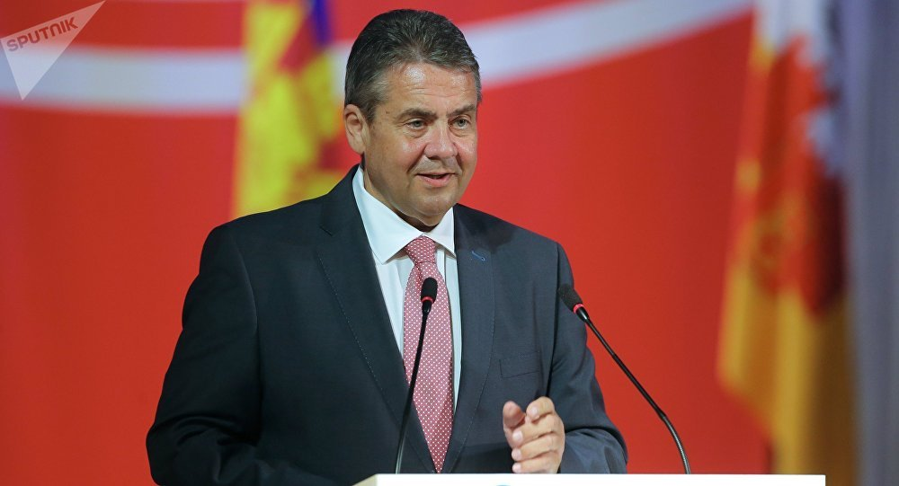 Il ministro degli Esteri della Germania Sigmar Gabriel