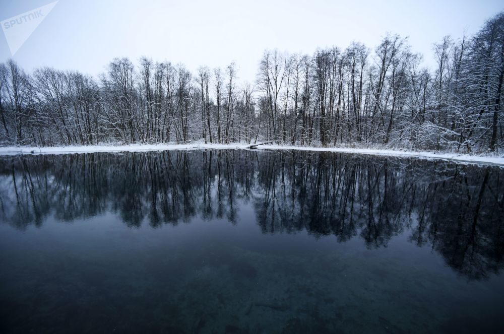 Il lago Azzurro di Kazan