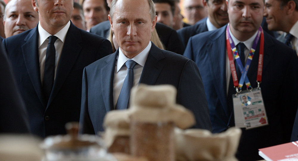 Putin in visita all'Expo