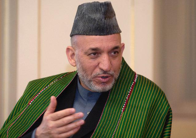 Ex presidente afghano Hamid Karzai