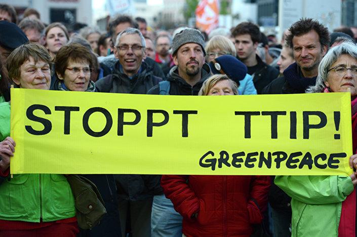 Germania, manifestazioni anti-TTIP