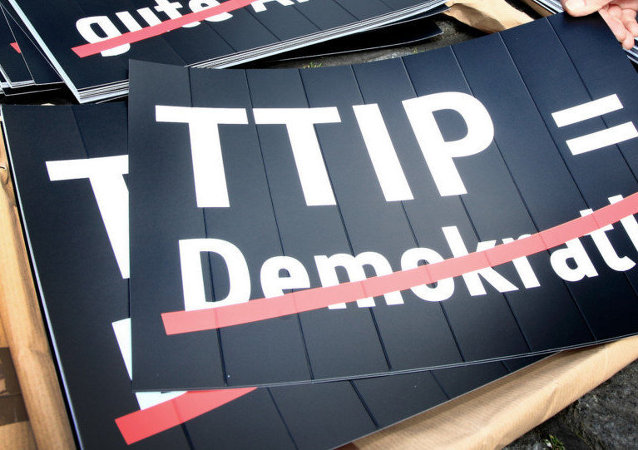 Cartelloni anti-TTIP in Germania
