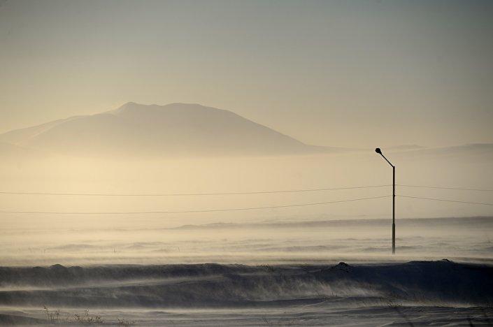 Paesaggio della Chukotka