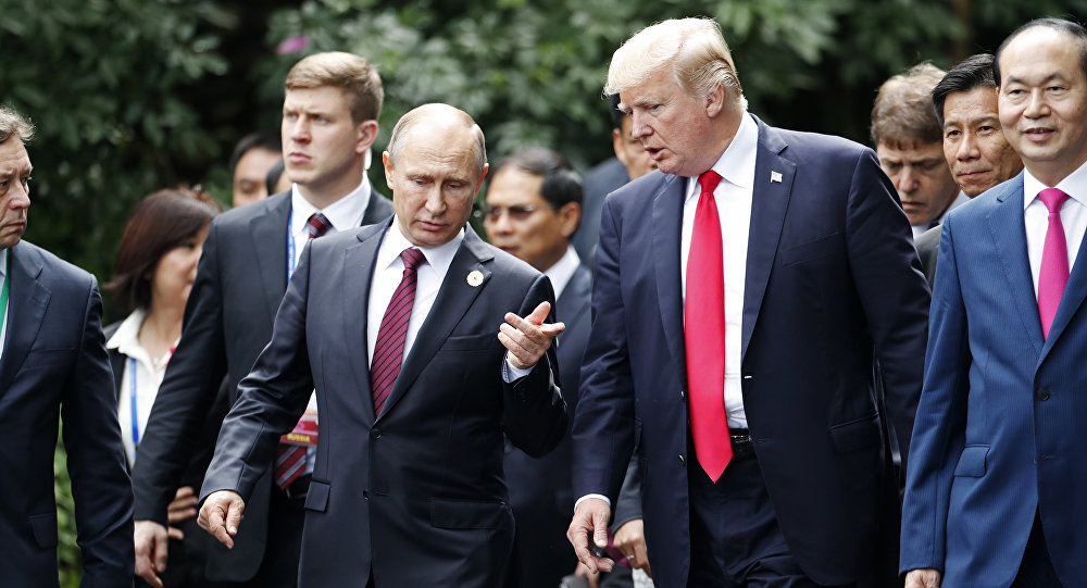 Risultati immagini per Vertice Trump Putin immagini