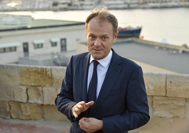 Il presidente del consiglio Ue Donald Tusk