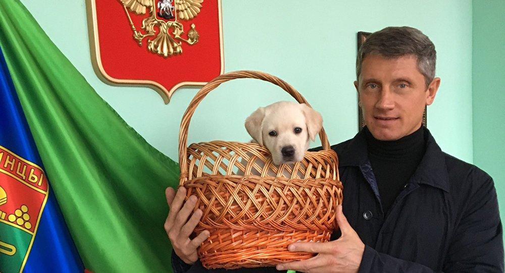Il sindaco di Klincy Oleg Shkuratov