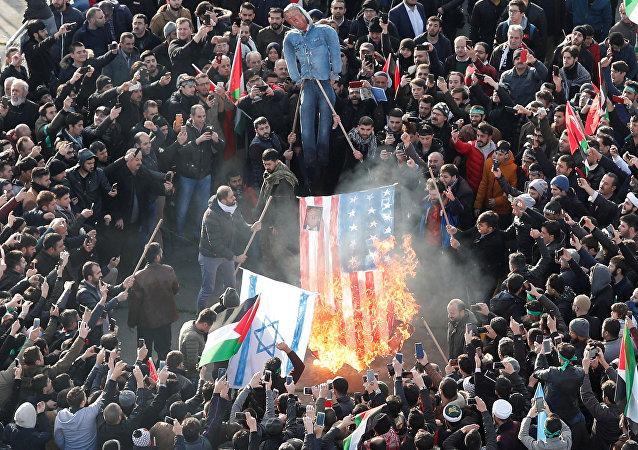 Istanbul, proteste contro il riconoscimento di Gerusalemme come capitale dell'Israele