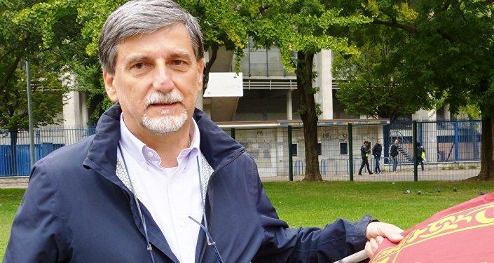 Palmarino Zoccatelli, vice-presidente Associazione Veneto-Russia
