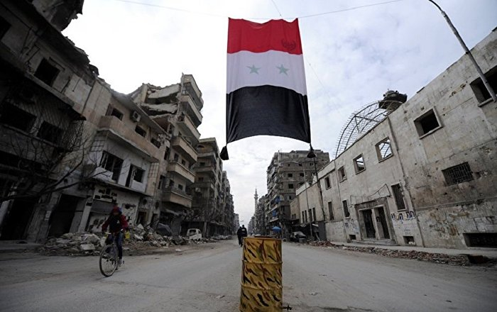 La bandiera di Siria
