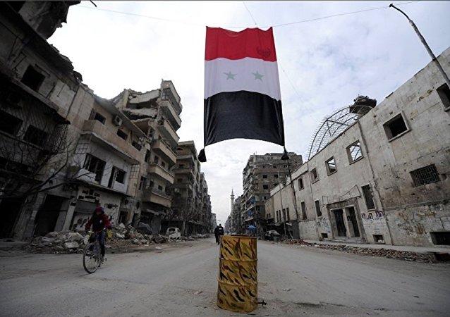 La bandiera della Siria