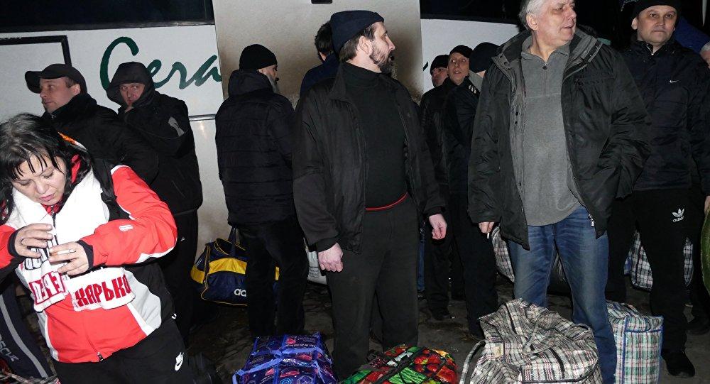 Lo scambio di prigionieri tra Ucraina e DNR-LNR del 27 dicembre 2017