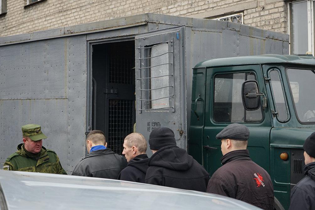 I prigionieri scambiati da parte dell' Ucraina