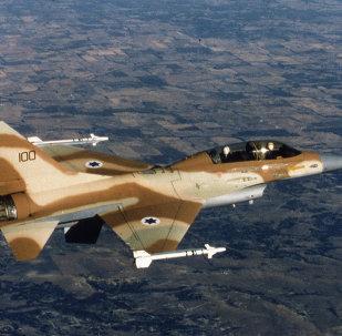 Caccia F-16 israeliano (foto d'archivio)