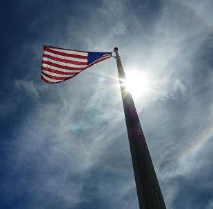 La bandiera americana