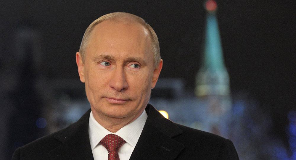 Putin durante il discorso di Capodanno