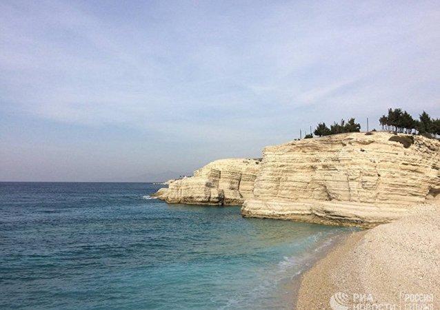 Costa mediterranea presso Latakia