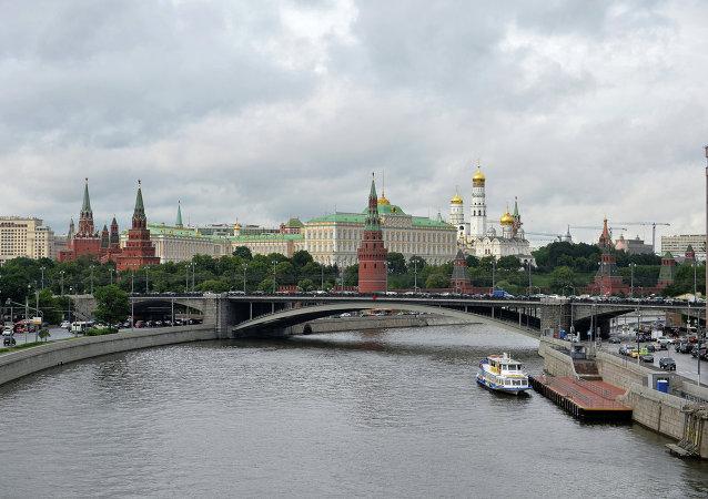 Veduta di Mosca (foto d'archivio)