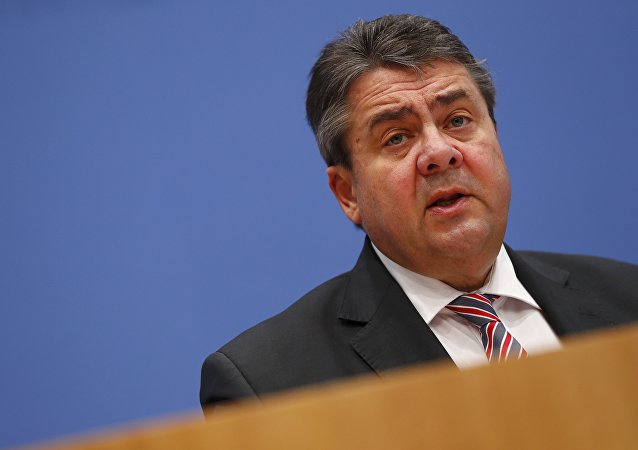 German Economy Minister Sigmar Gabriel addresses a news conference in Berlin Germany, December 19, 2016