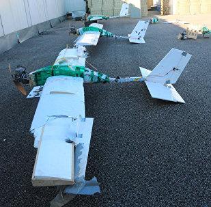 Un drone ha attaccato base militare russa in Siria