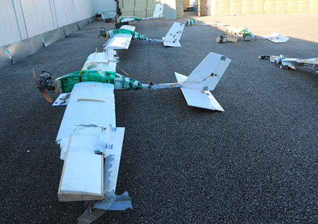 Un drone ha attaccato base militare russa in Siria