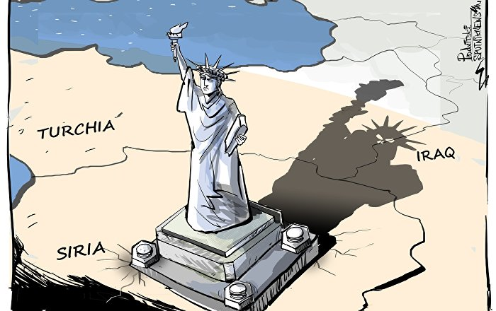 Gli Usa si giocano la carta curda