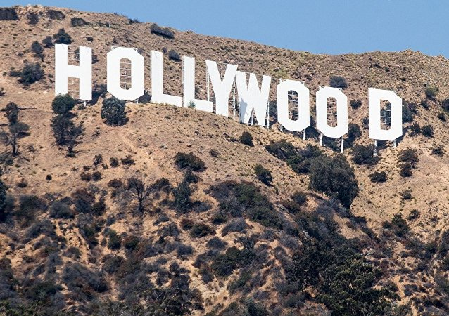 The Hollywood Sign located in Los Angeles, California