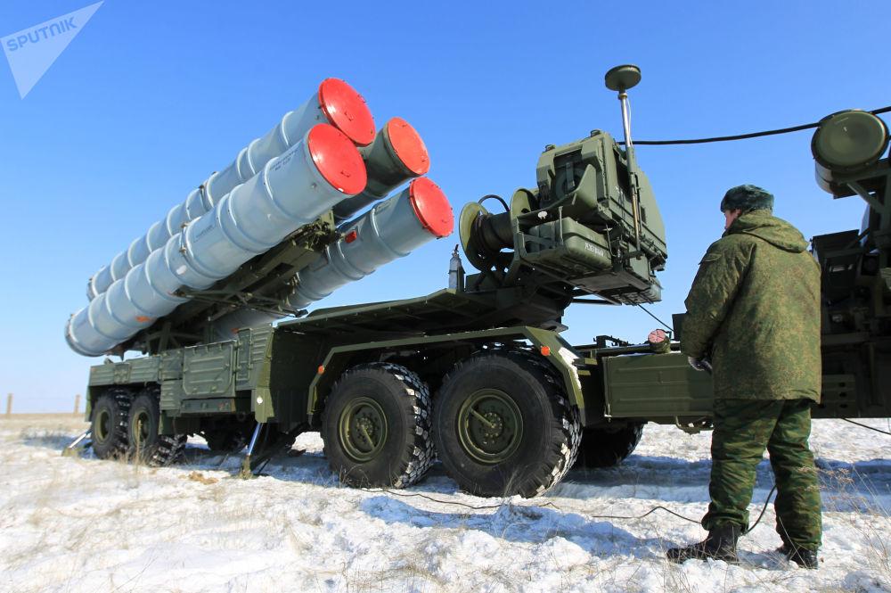 I complessi missilistici S-400 Triumph