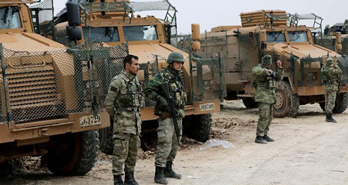 Truppe turche in Siria