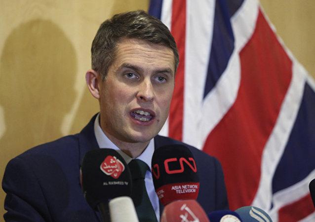 Ministro della difesa britannico Gavin Williamson
