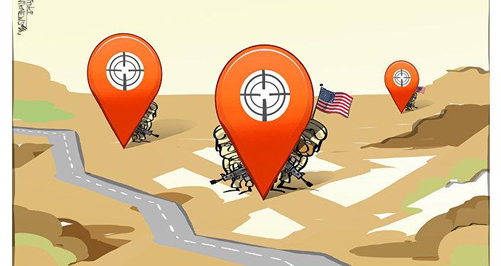 Applicazione di fitness per smartphone rivela coordinate delle basi militari segrete USA