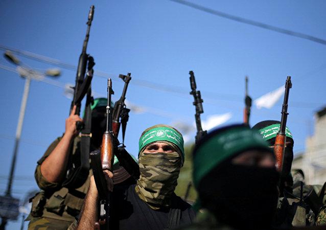 Militanti di Hamas (foto d'archivio)